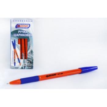Ручка шариковая на масляной основе с рез..