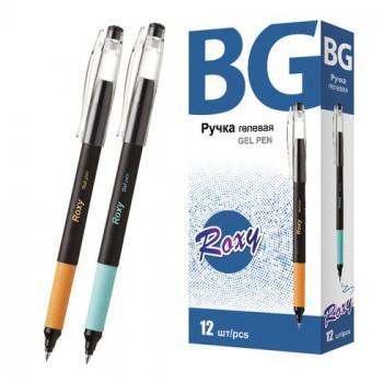 Ручка гелевая синяя с грипом 0.5 мм