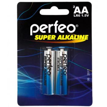 Батарейка (элемент питания) Perfeo LR6/2..