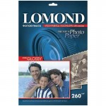 Бумага А4 для стр.принтеров LOMOND 260г/..
