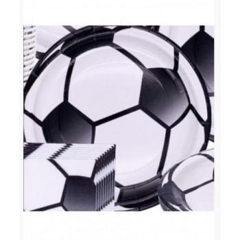 Бумажные тарелки Футбол, 18 см, 6 шт ФЛ-..