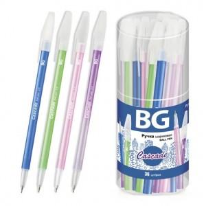 """Ручка шариковая 0.5 мм """"CASCADE"""", синий, пластиковая туба (36)"""