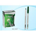 Ручка шариковая зелёная 1,0 мм, с чернил..