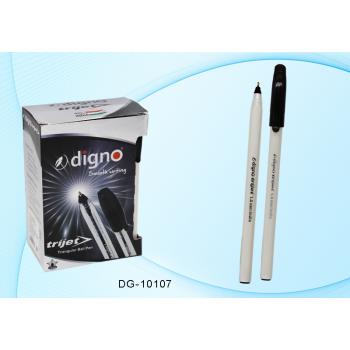 Ручка шариковая чёрная 1,0 мм, чернилами..