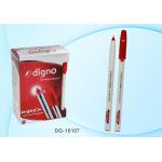Ручка шариковая красная 1,0 мм, с чернил..