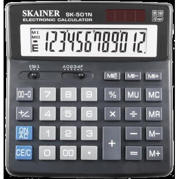 Калькулятор настольный 12-разрядный. сре..