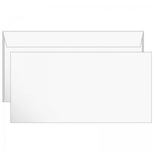 Конверт E65 110*220 б/подсказа, б/окна, отр. лента (РяжскГознак) (Россия) (1000)