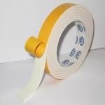 Клейкая лента двусторонняя вспен. желт. 19мм*5м (Ф..
