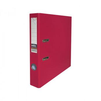 Папка-регистратор, 50мм, PVC, бордовая, ..