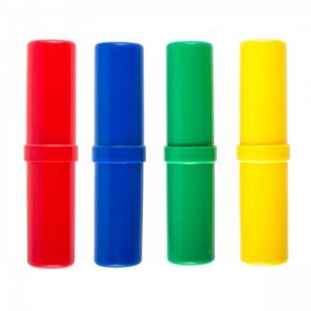Пенал-тубус пластик 18*4*4 Проф-Пресс ПН..