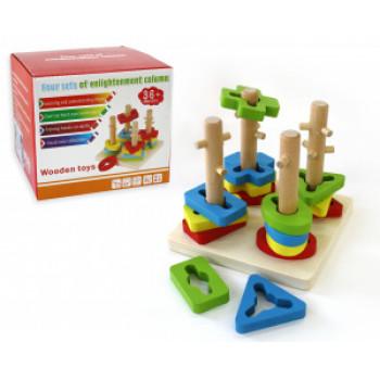 Деревянная игрушка, головоломка..