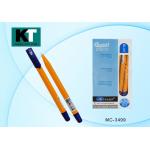 Ручка шариковая синяя,1 мм, с чернилами ..