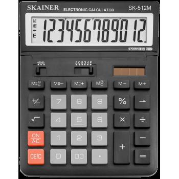 Калькулятор настольный 12-разрядный,  бо..