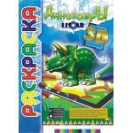 Раскраска (3D) Динозавры..