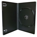 Коробка для 1 DVD 9мм глянец..