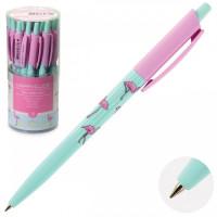 Ручка шар дет авт 0,5 HappyClick Фламинго 20-0241 (24)