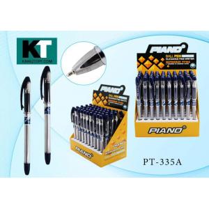 """Ручка шариковая синяя """"Piano Maxriter"""", прозрачный корпус, игольчатый наконечник, (50)"""