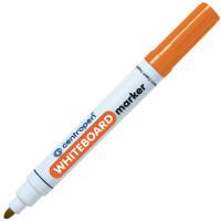 Маркер для доски, круглый наконечник, оранжевый CENTROPEN (10)