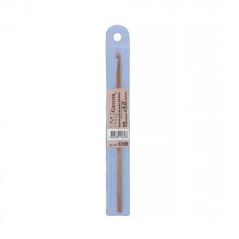 Для вязания CHB крючок бамбук d5.0мм 15с..