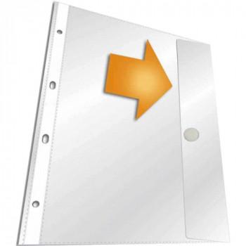 Папка-вкладыш с клапаном на кнопке
