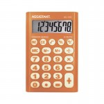 Калькулятор карманный 8-разр., оранжевый..