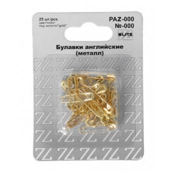 Булавки английские №000 19 мм (под золот..