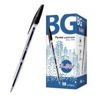 """Ручка шариковая 1.0 мм """"B-301"""", черный, картонная коробка, 50/1000/4000 шт в упак"""