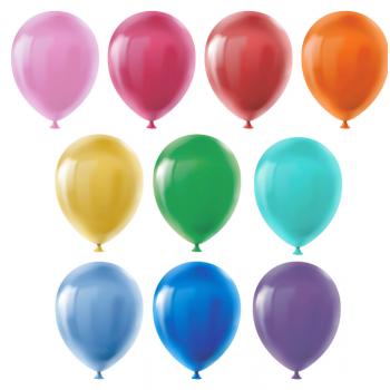Набор воздушных шаров 30 см 10 шт 01-асс..