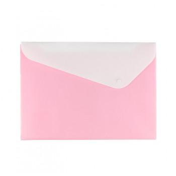 Папка-конверт А4 2 отд. с кнопкой 180 мк..