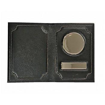 Обложка  авто +паспорт с железными встав..