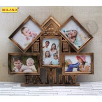 Фоторамка-коллаж (5 фото) Семейный очаг, размер фото - 10х15 см ФР-1621