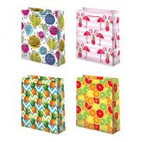 Пакеты бумажные подарочные (26х32) 12шт. Ч18314