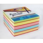Блок для записи 9*9*4,5 цветной экстра 2-6 цвета, ..
