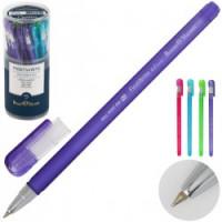 Ручка шар 0,5 цветн корп FirstWrite Creative 20-0238 син пл/уп ассорти