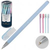 Ручка шар 0,5 цветн корп FirstWrite Zefir 20-0239 син пл/уп ассорти