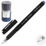 Ручка шар 1,0 антискольз черн корп резин..