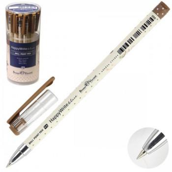 Ручка шар дет 0,5 HappyWrite Щенок с бук..