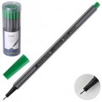 Ручка капил 0,4 однораз BASIC 36-0010 зел пласт/уп